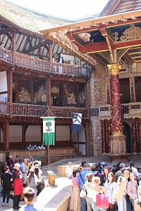 The Globe Theatre, London UK